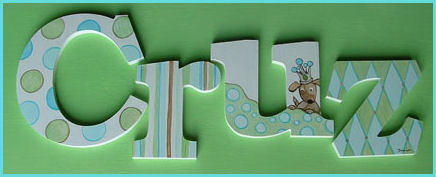 "10"" Themed Letter - Doggie-"
