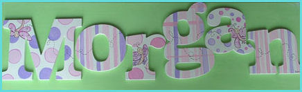 "10"" Themed Letter - Dragonfly-"