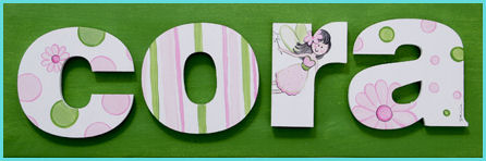 "10"" Themed Letter - Fairies-"