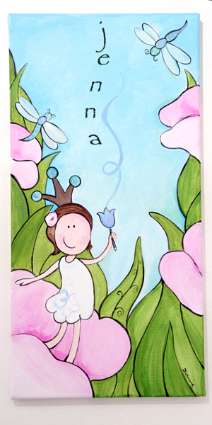 Canvas Print - Fairy-Canvas Print - Fairy